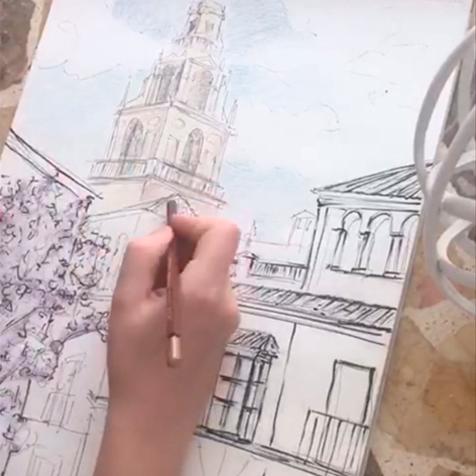Making of: lámina Córdoba