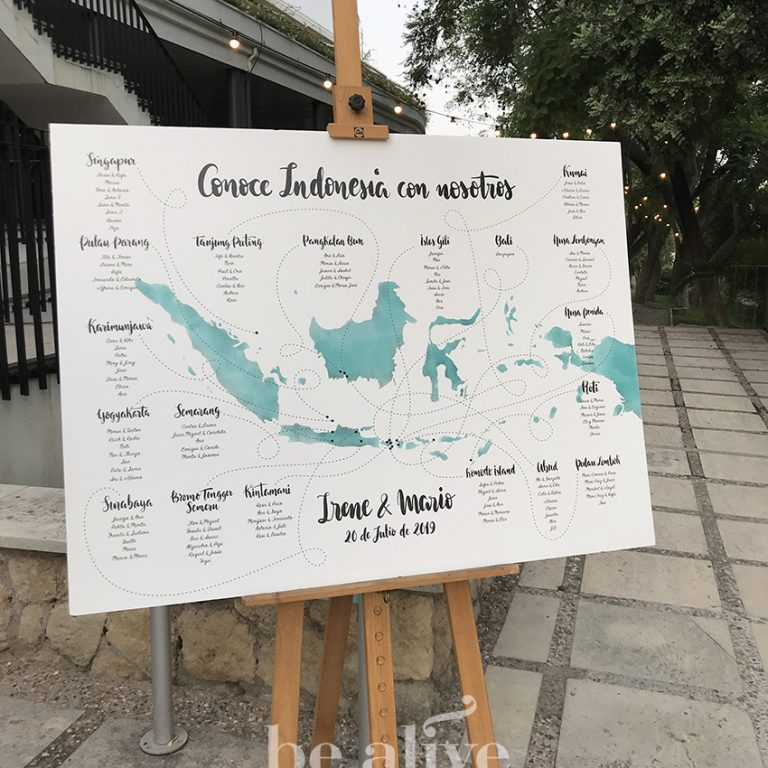 Seatingplan Indonesia